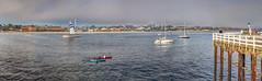 View of Santa Cruz Beach Boardwalk From Wharf - Santa Cruz, CA