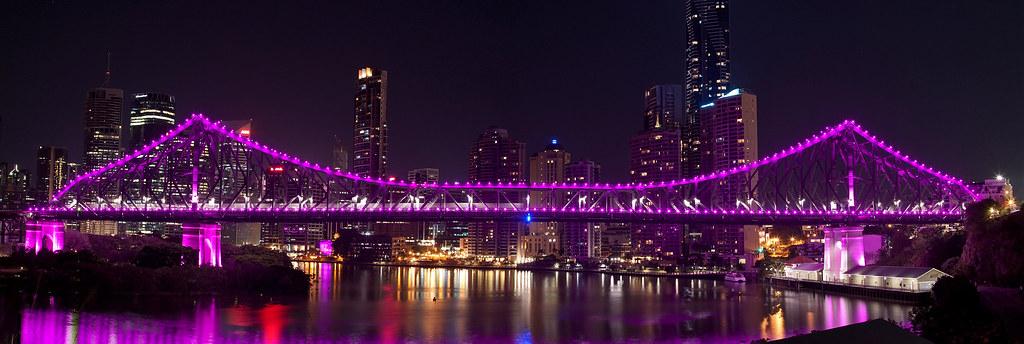 Purple Story Bridge Story Bridge Pink | by