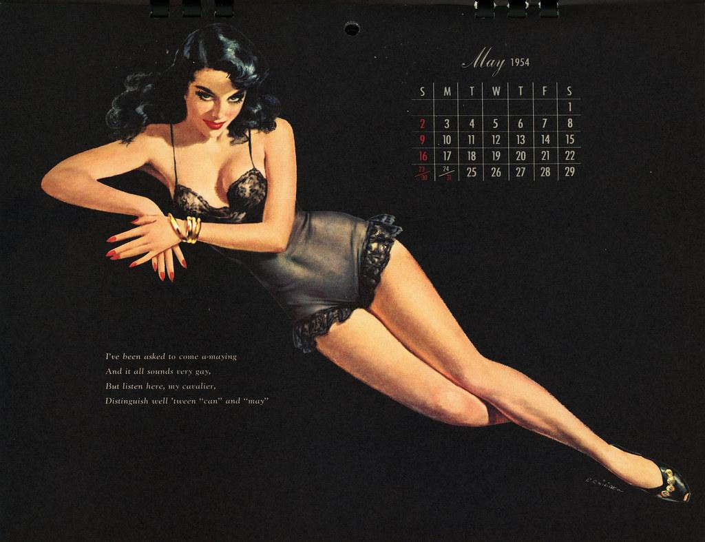 Erotic art calendar
