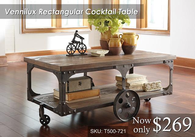 Vennilux Cocktail Table