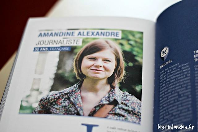 Amandine Alexandre portraits de londres