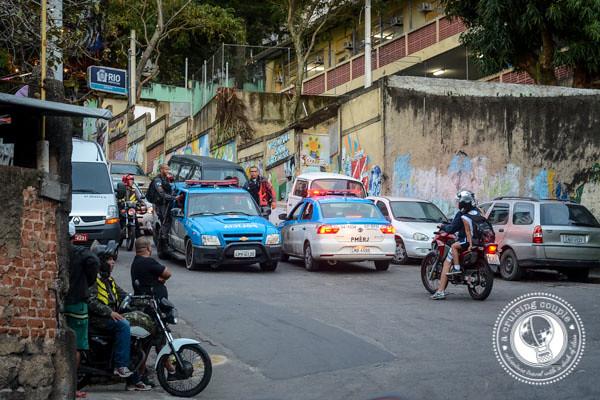 UPP in Vidigal Rio de Janeiro