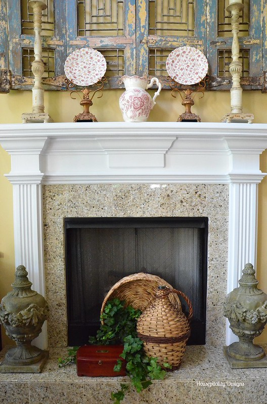 Great Room Fireplace-Housepitality Designs
