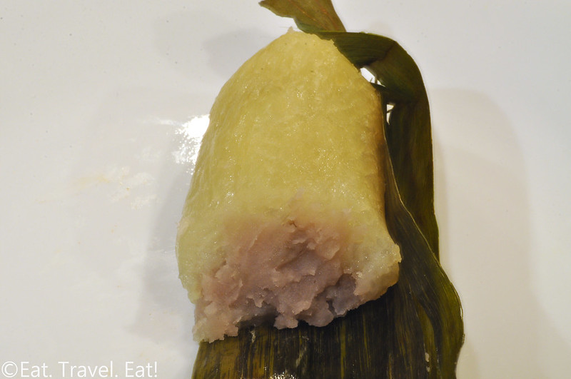 Bhan Kanom Thai- Los Angeles (Thai Town), CA: Grilled Sticky Rice with Taro