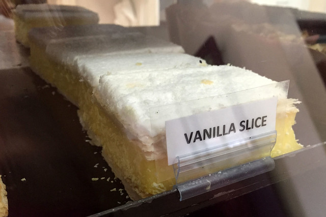 Vanilla slice: Linke's Bakery