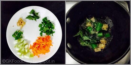 Samai Curd Rice-preparation step