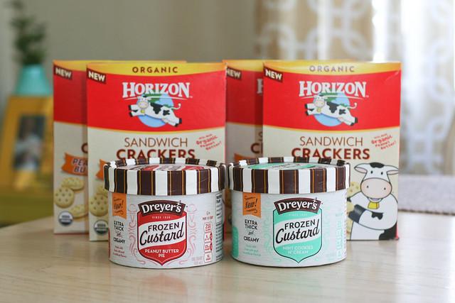 free crackers + cheap custard at Target = happiness   yourwishcake.com