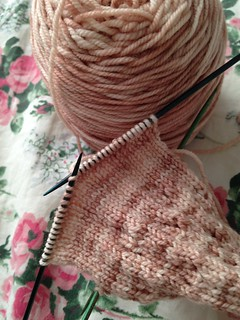 Afternoon Knitting