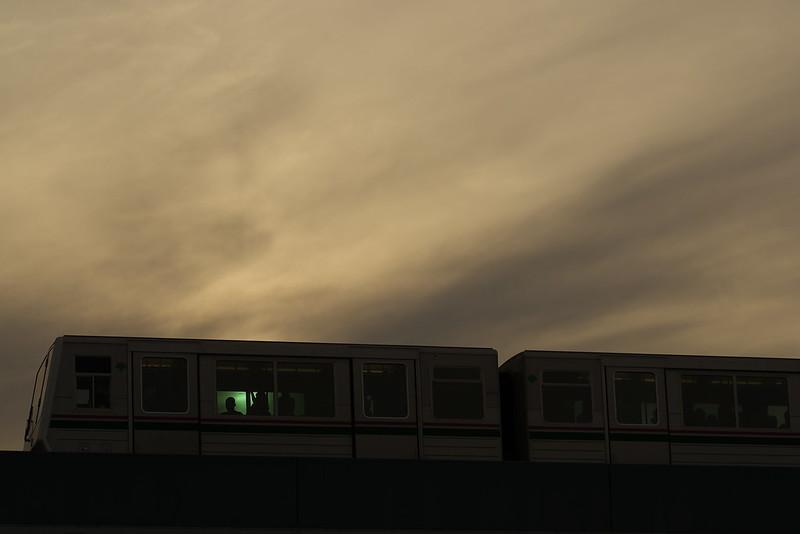 Tokyo Train Story 日暮里・舎人ライナー 2015年5月23日