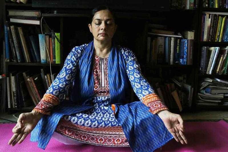 City Moment – Sadia Dehlvi's Birthday Yoga, Nizamuddin East