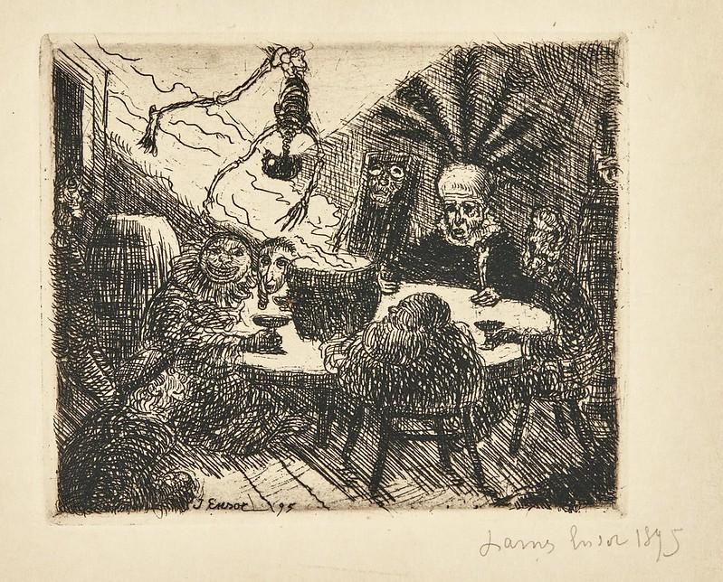 James Ensor - King Pest, 1895