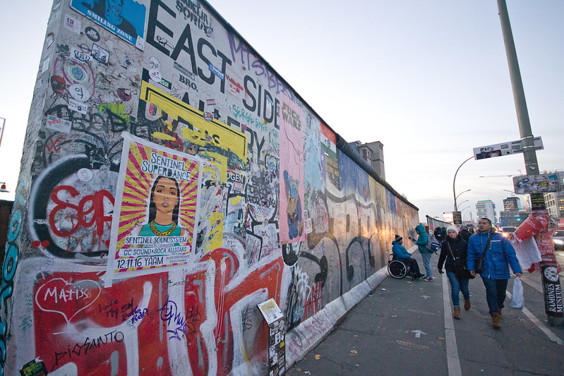 East Side Gallery - 7 Free Things To Do in Berlin | packmeto.com