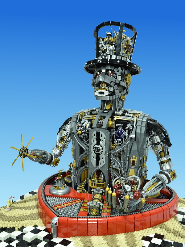 LEGO Steampunk MOC, Unchain My Heart