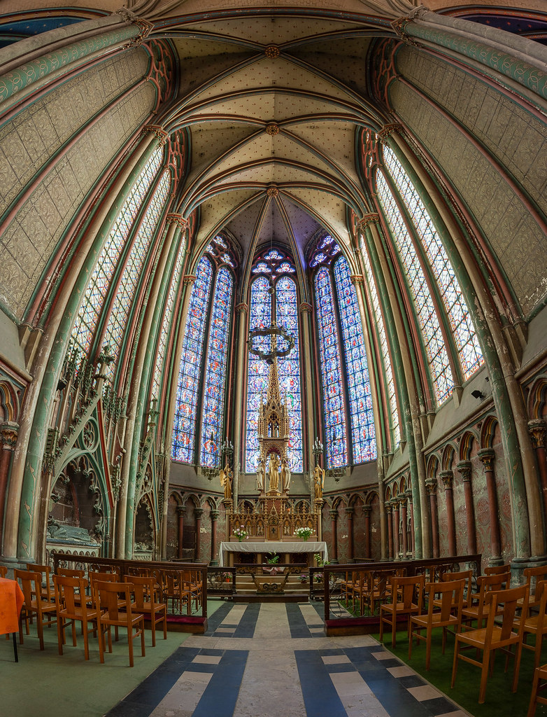 Amiens Cathedral Virgin Chapel Virgin Chapel Of The