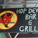 Hop Devil Bar & Grill sign