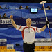 Basel Switzerland,April7-2012.Men's World Curling Championship.Canadian skip Glenn Howard.CCA/michael burns photo