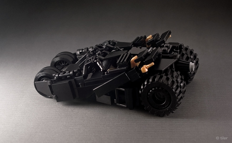 batman lego tumbler v 2 second version of my minifig. Black Bedroom Furniture Sets. Home Design Ideas
