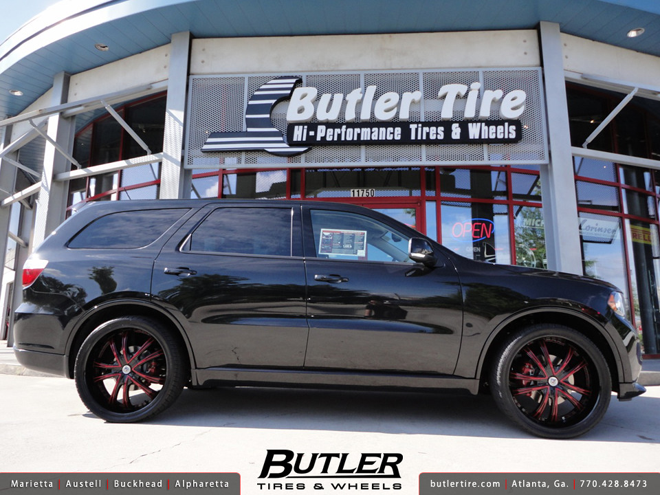 Dodge Durango With 24in Lexani Lss55 Wheels Additional