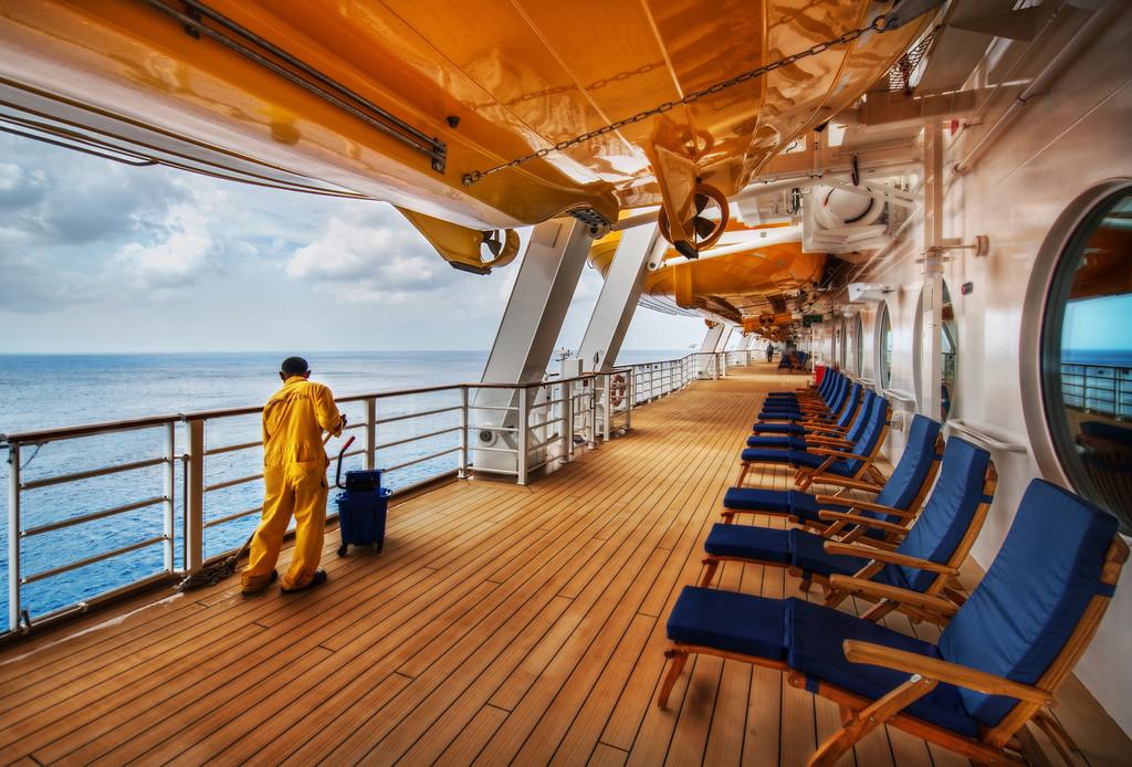 Swabbing The Decks The Disney Cruise Aboard The Fantasy