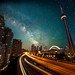 Milky Way over the Gardiner