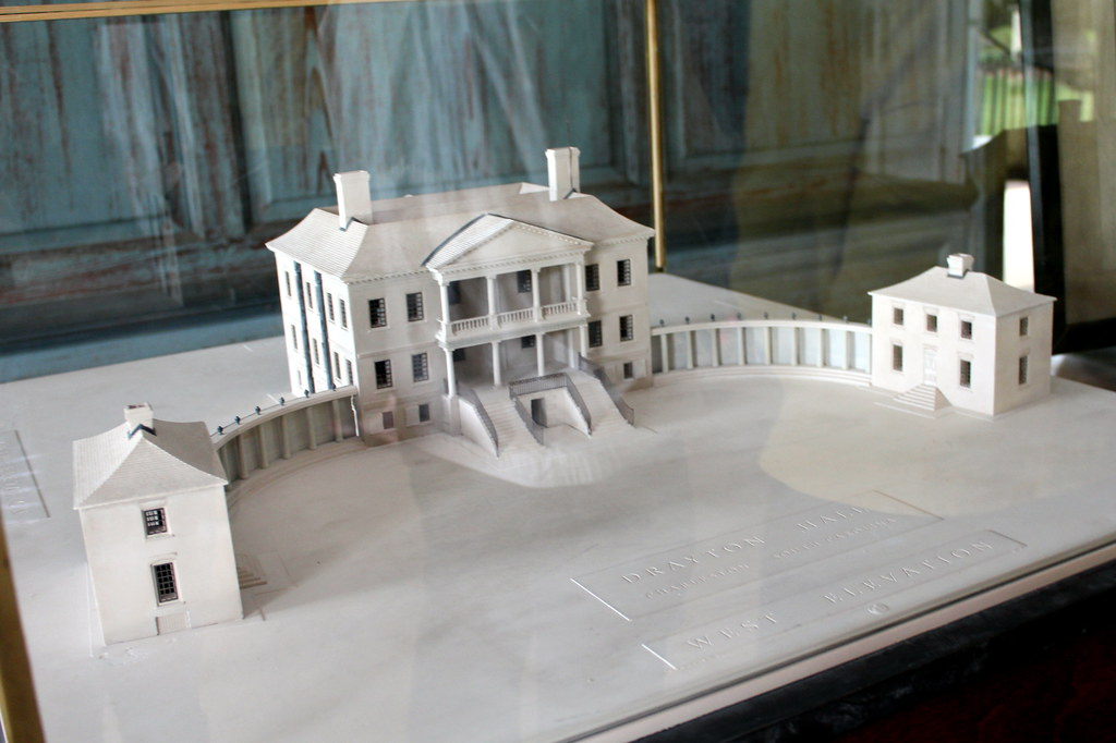 Off Road Design >> Charleston: Drayton Hall - Great Hall - model | This model, … | Flickr