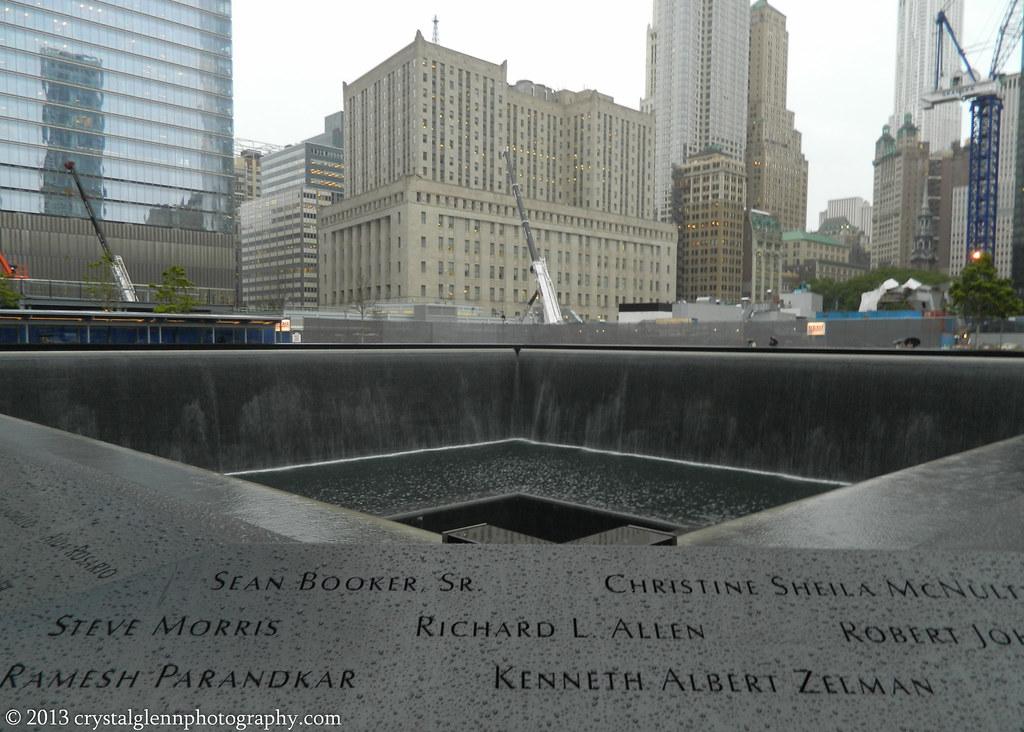 Memorial pool ground zero 911 memorial nyc crystal - Ground zero pools ...