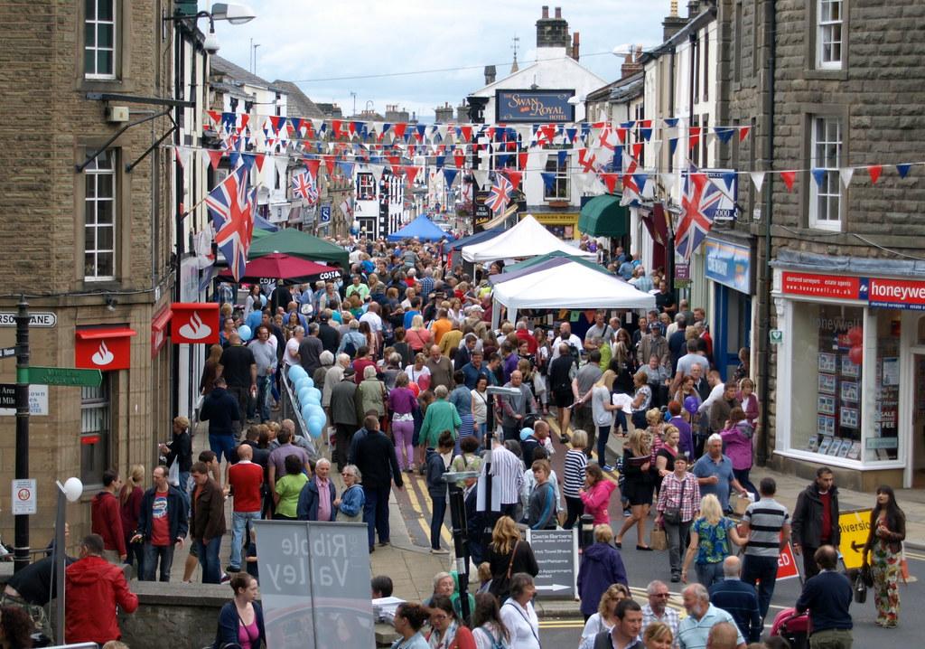 Clitheroe Food Festival August