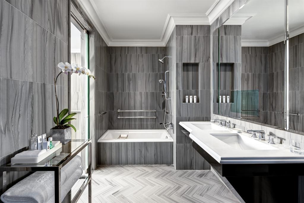 The St Regis New York Bentley Suite Bathroom Bentley