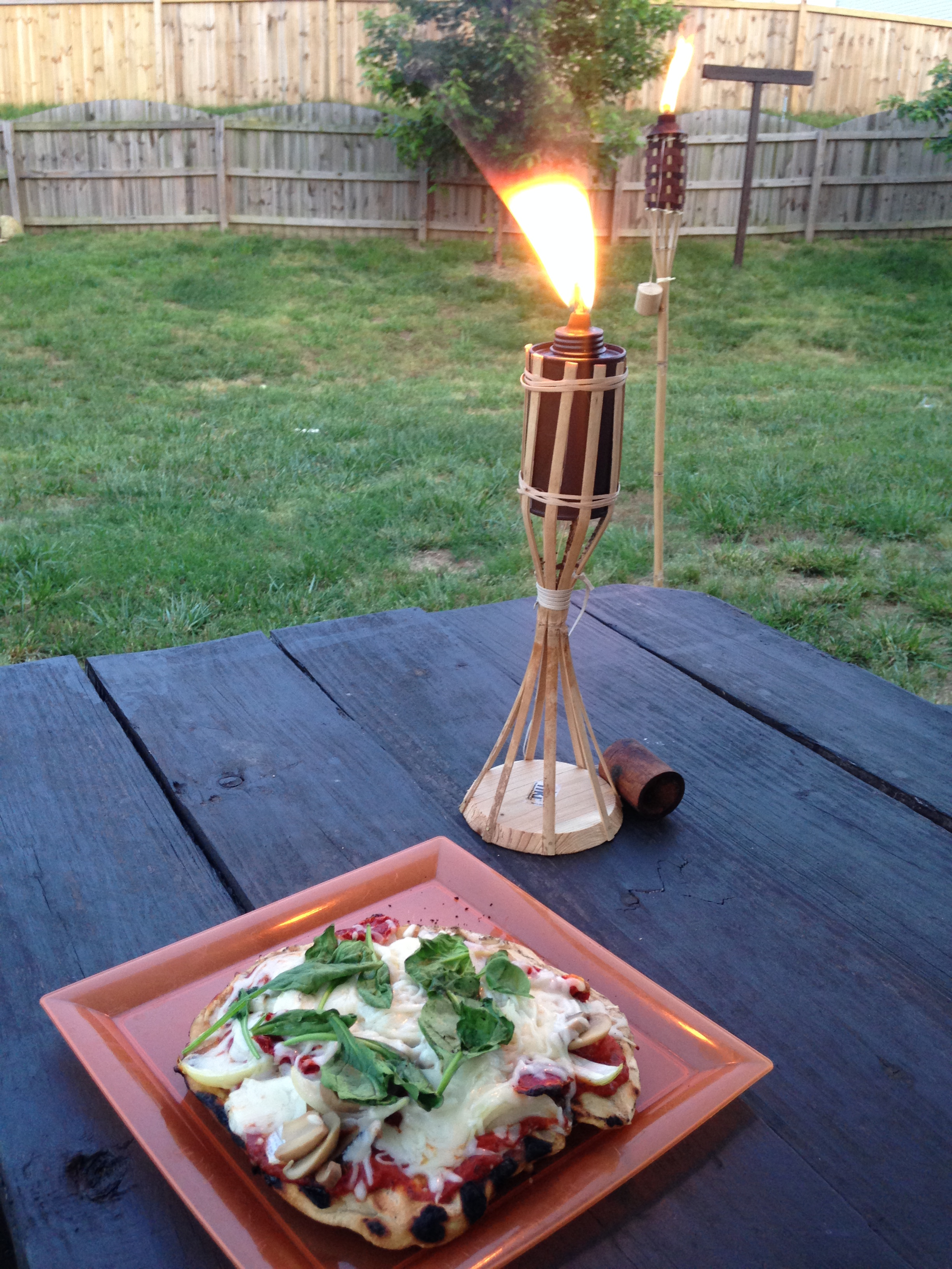 backyard pizza
