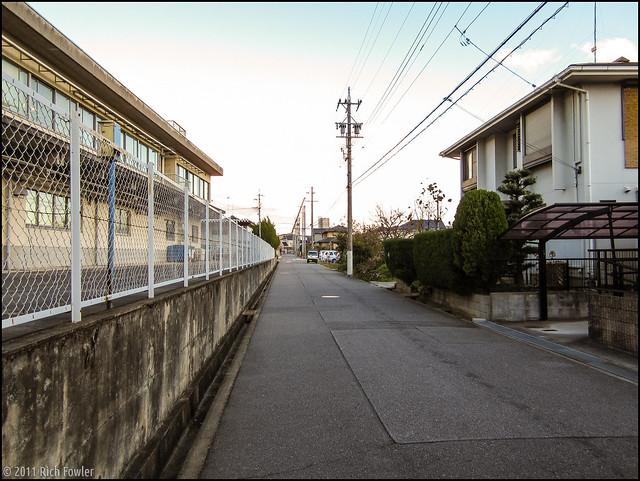 Backstreets of Okazaki near Yamasa