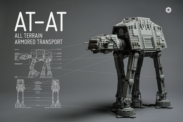 AT-AT wallpaper LEGO Star Wars