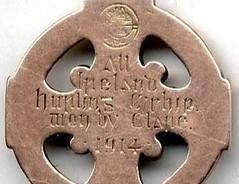 All Ireland Hurling medal reverse