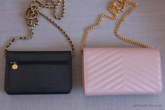 chanel vs ysl saint laurent wallet on chain purse3