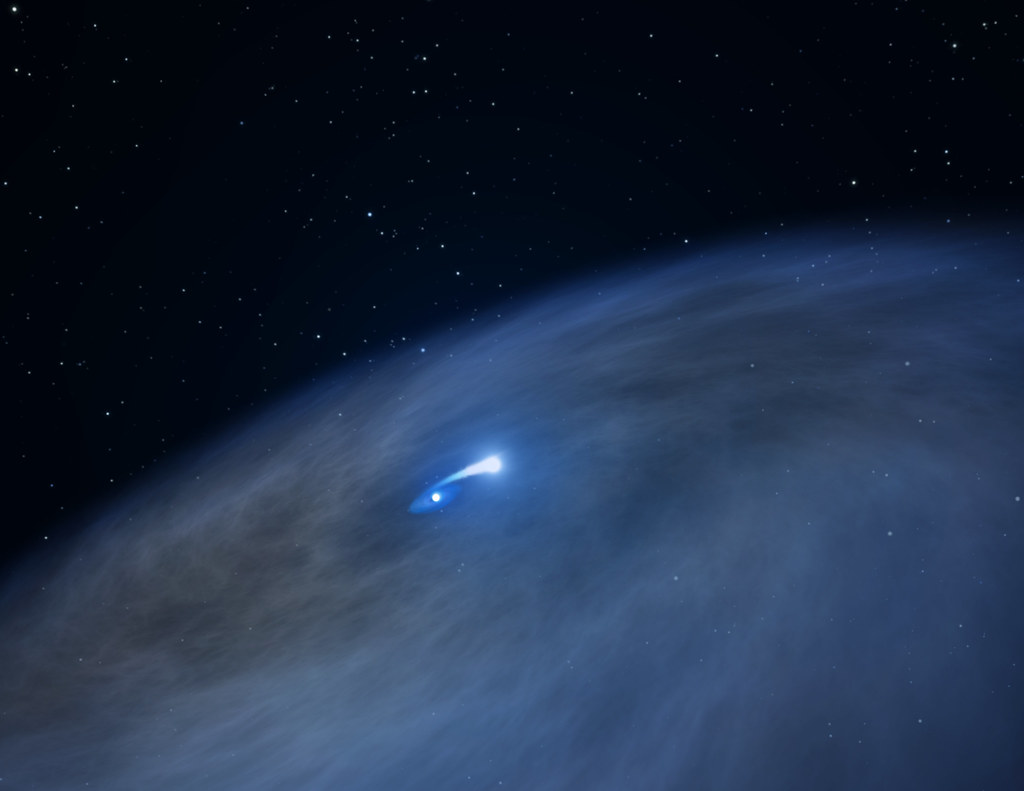 Hubble Observes One-of-a-Kind Star Nicknamed 'Nasty'