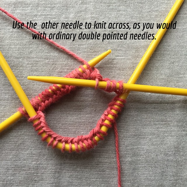 Show and Tell: Knitting with Neko curved double pointed needles Crafts from...