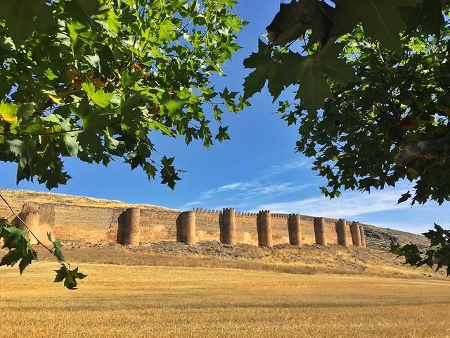 Muralla del castillo medieval de Berlanga de Duero (Tierras de Berlanga, Soria)