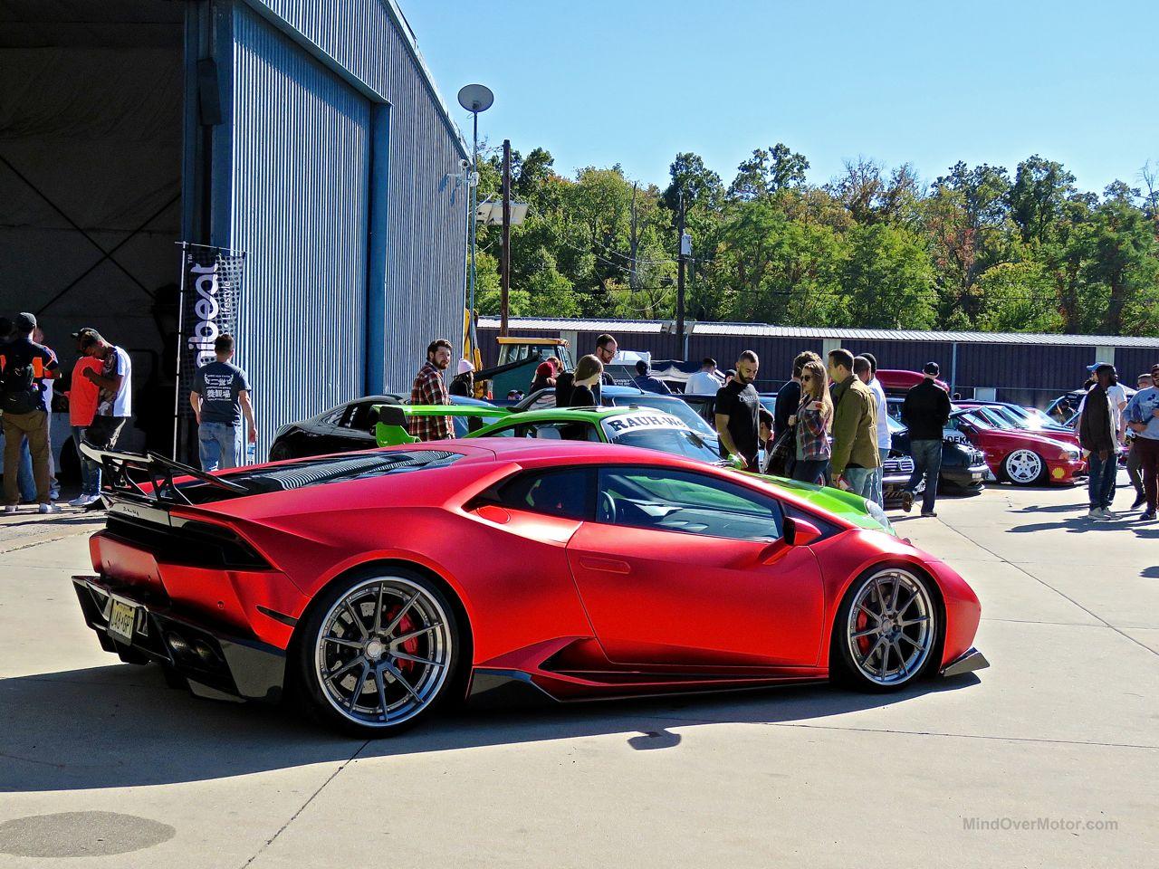 First Class Fitment Lamborghini Huracan