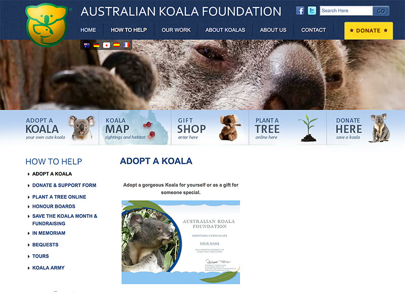 Koala Foundation.