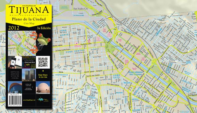 Mapa De Tijuana Calles Y Colonias Flickr Photo Sharing