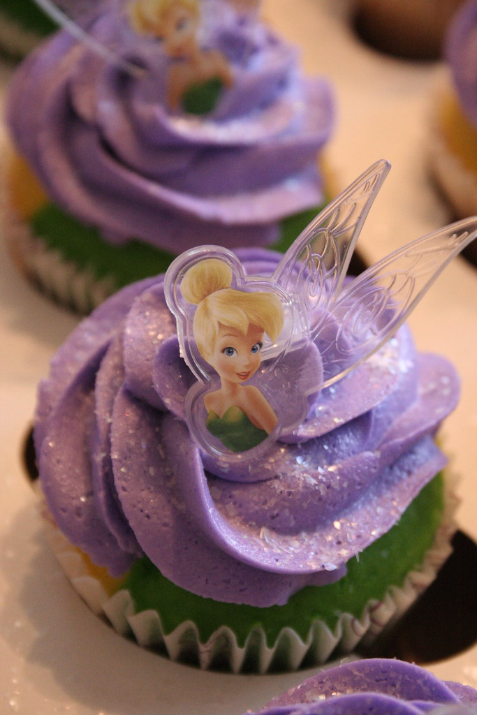 Tinkerbell Cake Colors