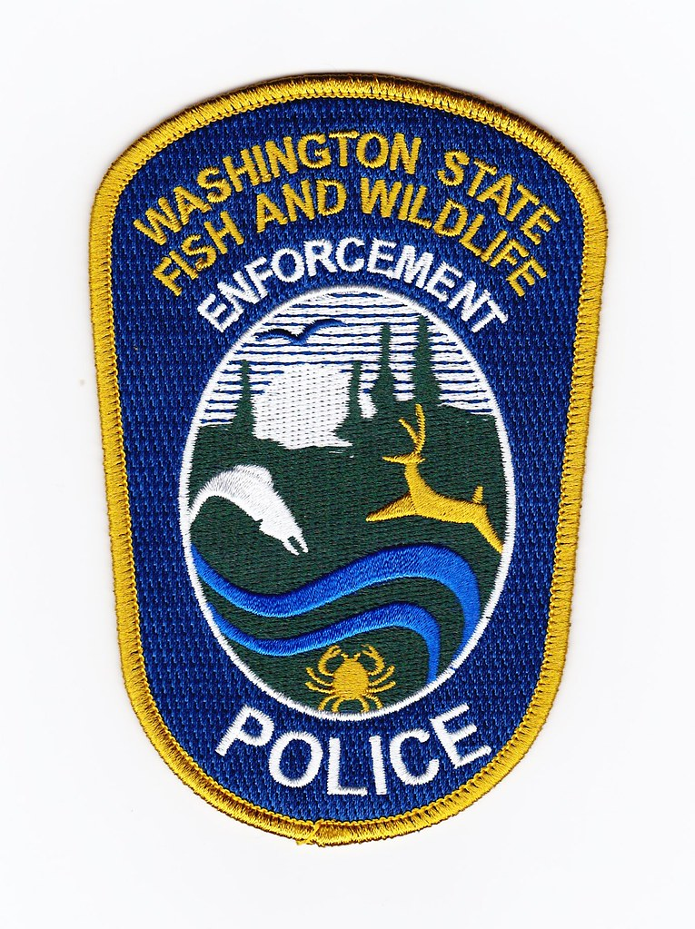 Wa washington state fish wildlife enforcement officer for Washington state fish