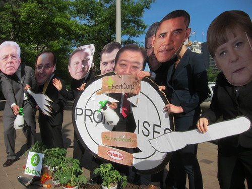 G8 Attempts to Fix Broken Promises with Private Sector Partnership | by Oxfam International