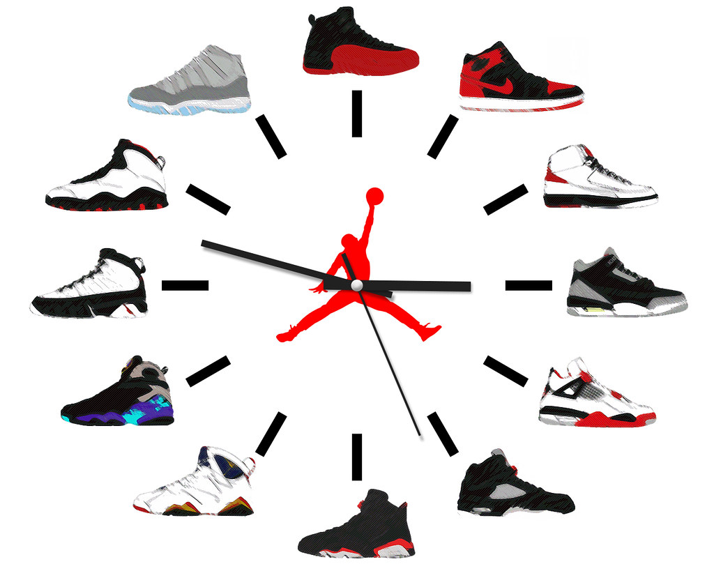 Air Jordan Clock. | Flickr - Photo Sharing!