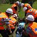 Volunteer disaster response teams in South Kazakhstan, Tekeli town