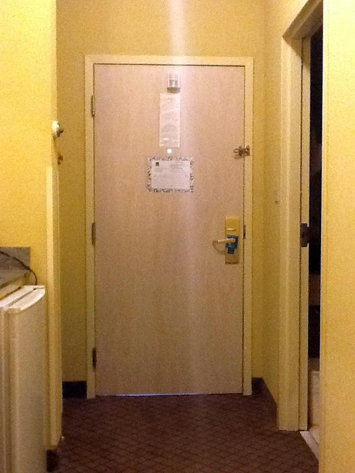 Hotel Room Door Design