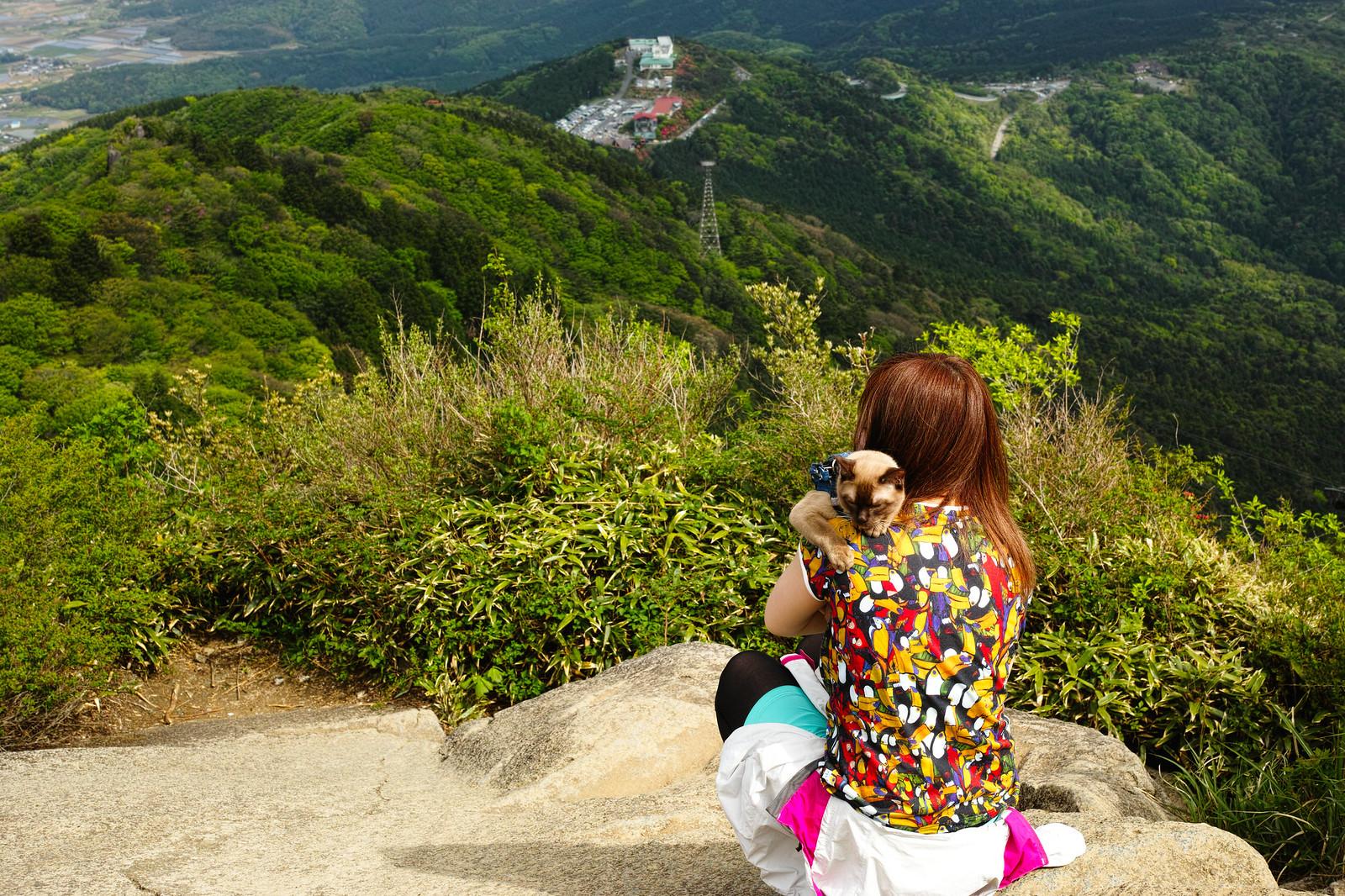 筑波山 女体山頂から