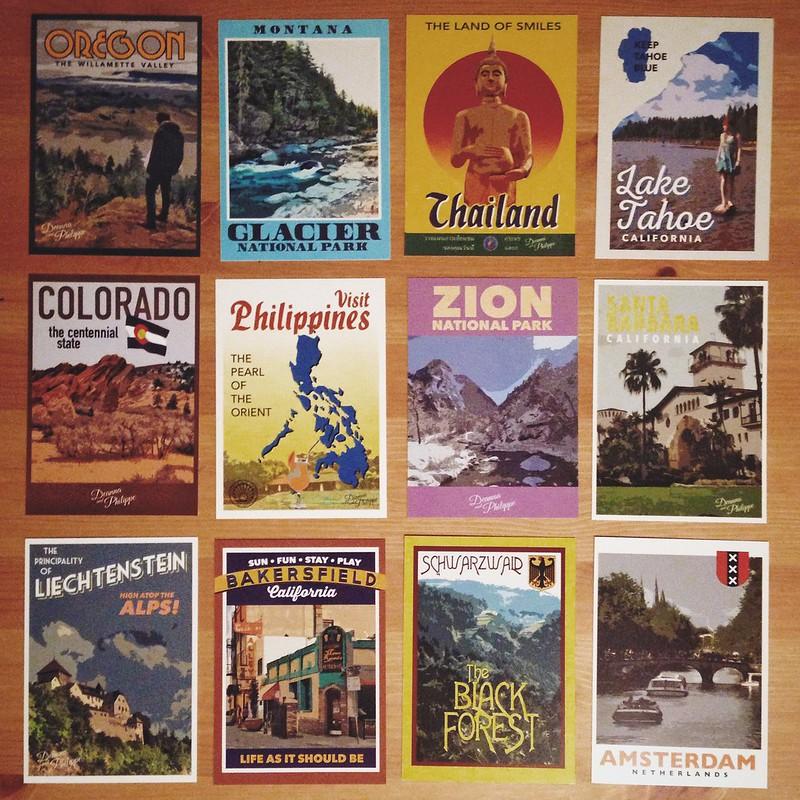 #123 The Postcard Places