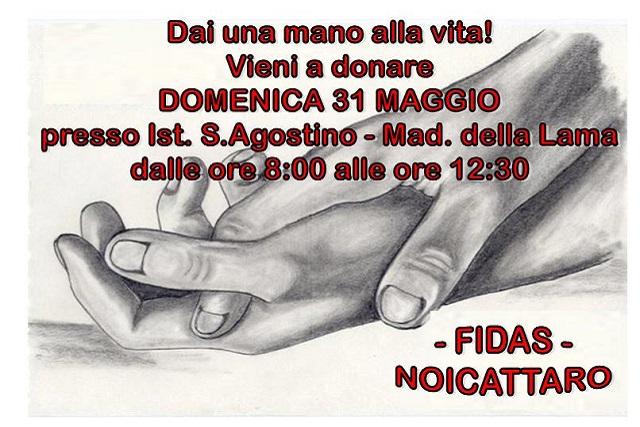 Noicattaro. Donazione Fidas Maggio
