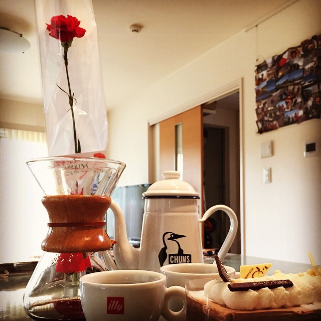 Mother's day!  #母の日 #chums #chemex