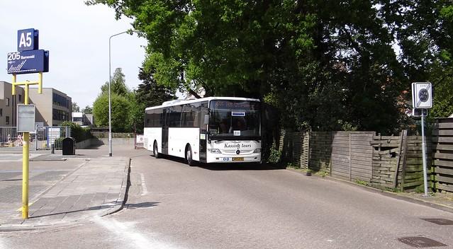 Harderwijk, Kassing Tours mercedes integro trein vervangende bus